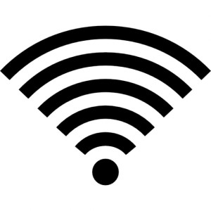 Symbol des WLAN